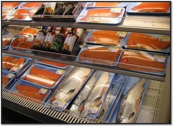 Розничная торговля рыбой – как открыть рыбный отдел