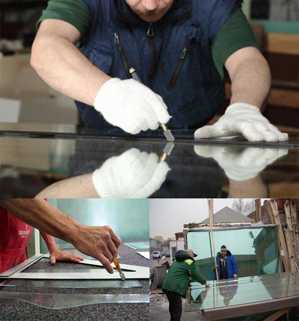 Как фигурно вырезать стекло в домашних условиях 136