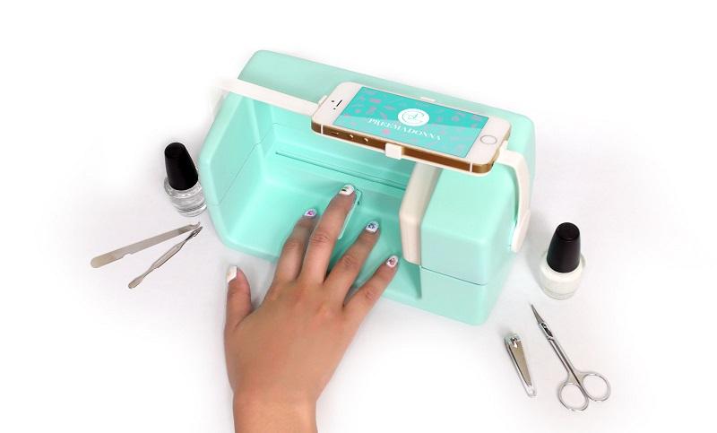 Печать на цветах и ногтях как бизнес
