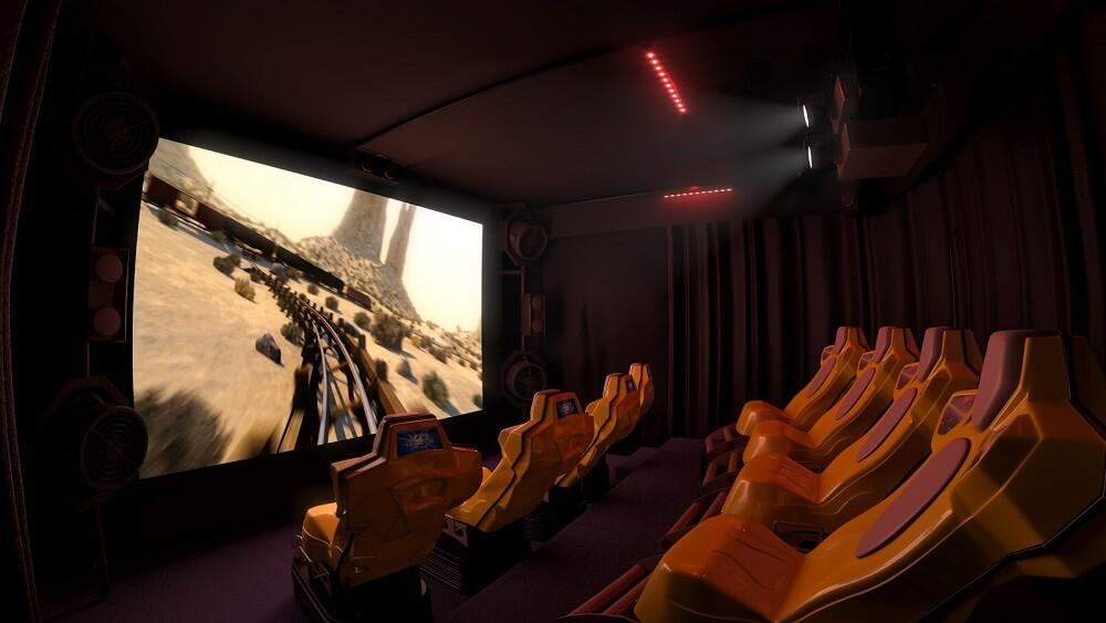 Бизнес-идея - Передвижной 5D кинотеатр
