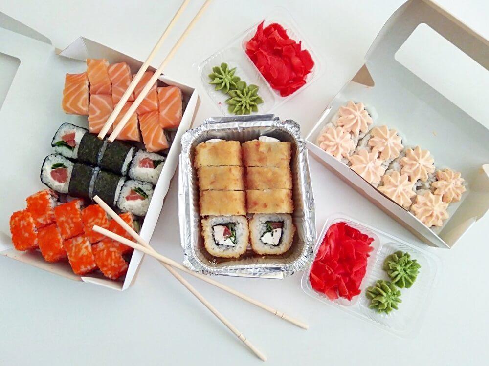 Описание продукции суши бара