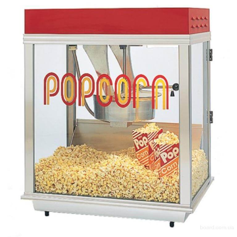 Бизнес на попкорне - уличная торговля попкорном