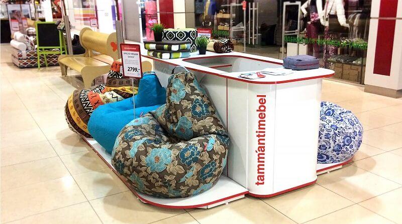 Торговля бескаркасной мебелью как бизнес