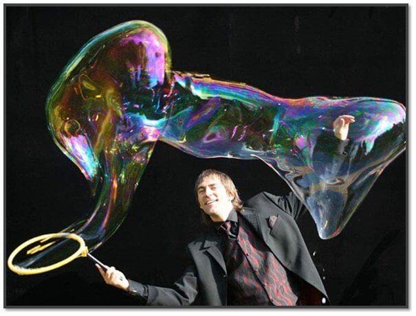 Свой бизнес - шоу мыльных пузырей