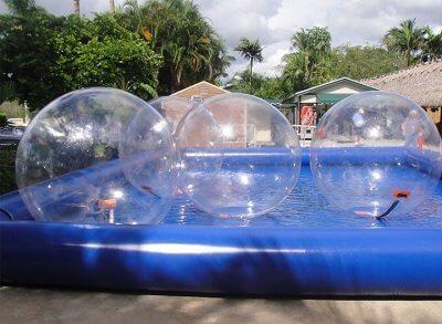 Бизнес-идея - Водный шар, прокат аквазорба