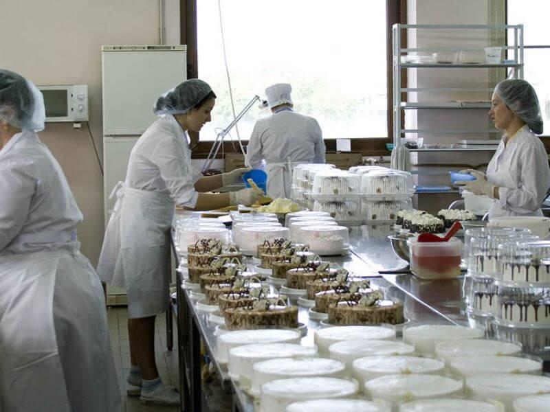 Бизнес на производстве тортов и пирожных