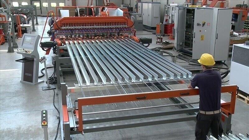 Производство заборных ограждений из сварной сетки