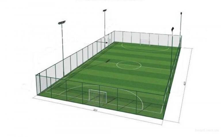 Бизнес-идея - Мини-футбольное поле