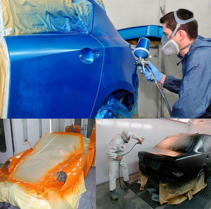 Бизнес на покраске автомобилей