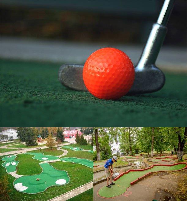 mini golf klub