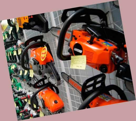 Розничная продажа электро- бензоинструмента
