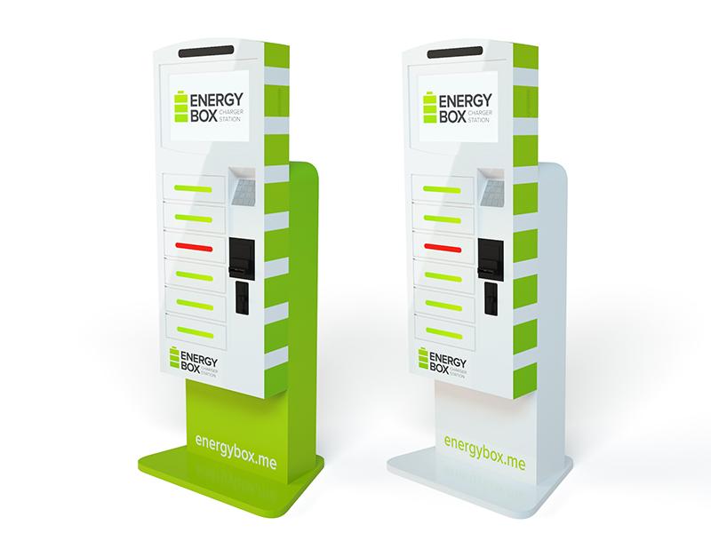 Energybox - Франшиза станций зарядки мобильных устройств