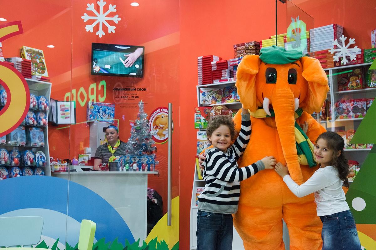 Оранжевый слон - франшиза магазина товаров для детского творчества