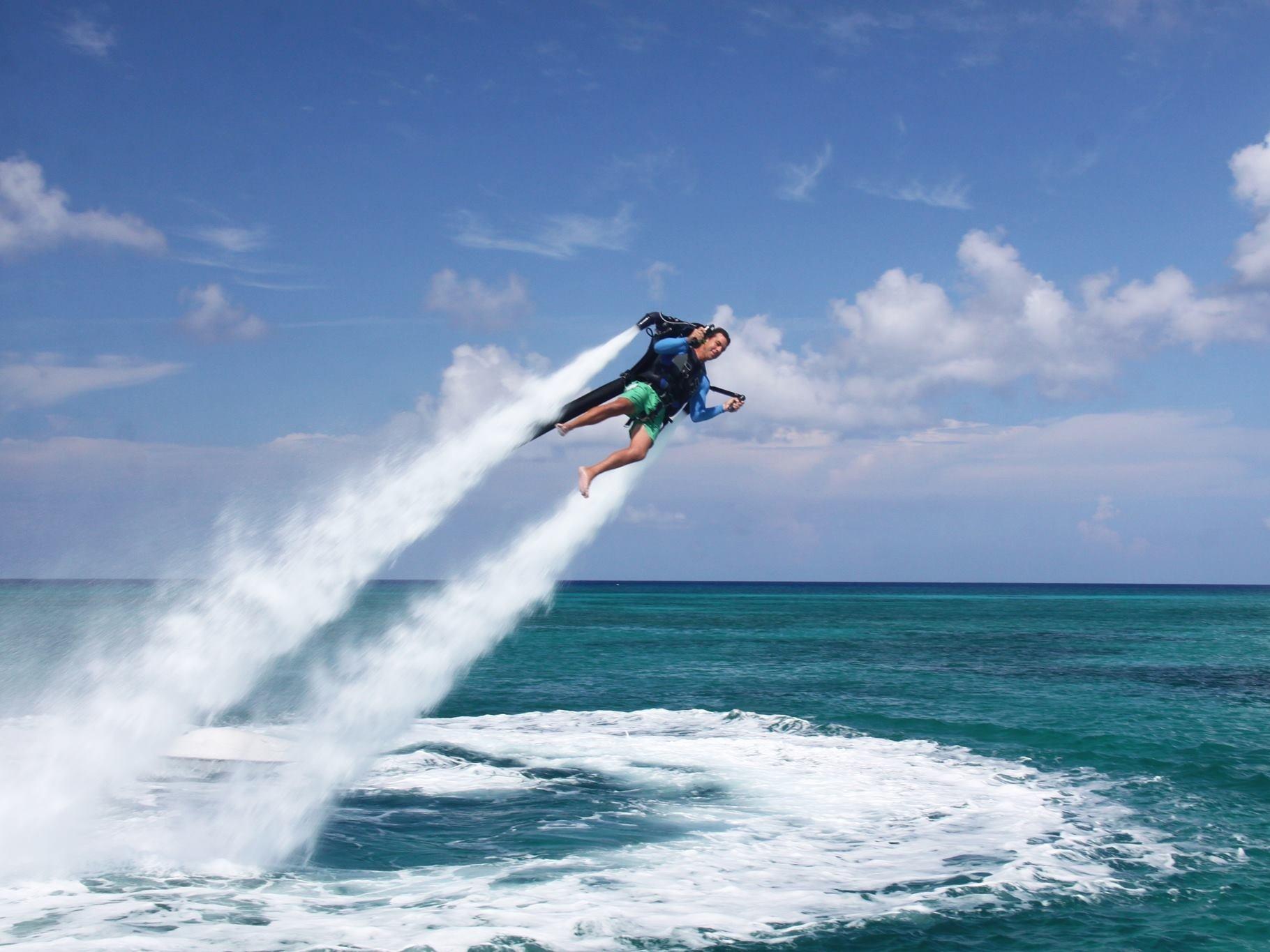 Flyboard – водный экстрим из будущего