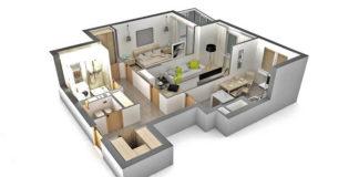 Перепланировка квартиры-разновидность планировок
