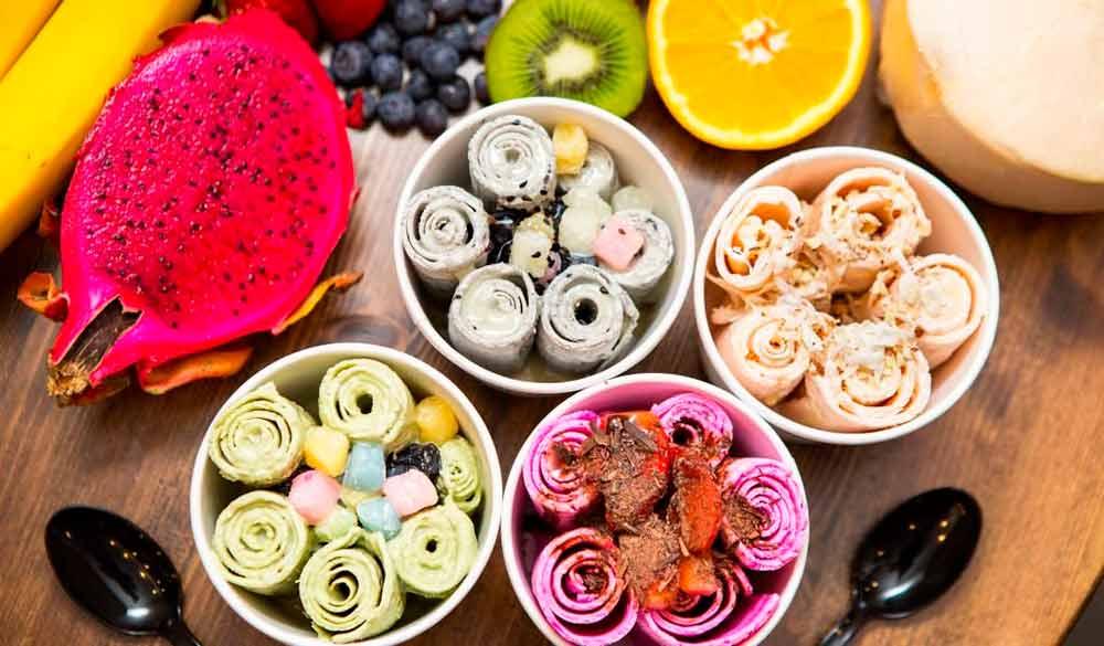 Тайское мороженое: как заработать на необычном лакомстве