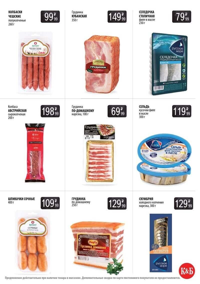 Цены на продукцию
